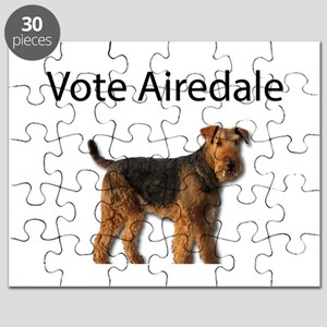 Vote for the Airedale Party Puzzle