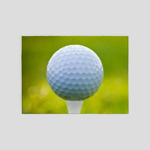 Golf Ball 5'x7'Area Rug