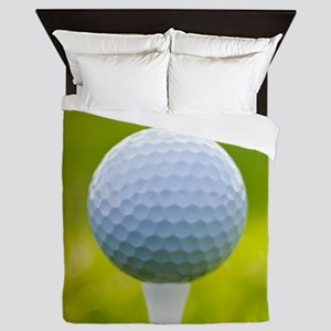 Golf Ball Queen Duvet