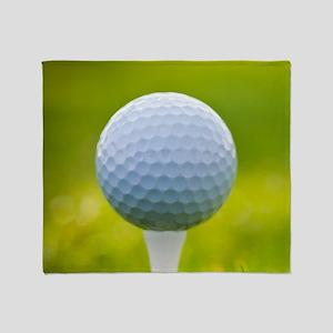 Golf Ball Throw Blanket