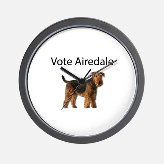 Vote for the Airedale Party Wall Clock