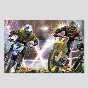 Motocross Arena Postcards (Package of 8)