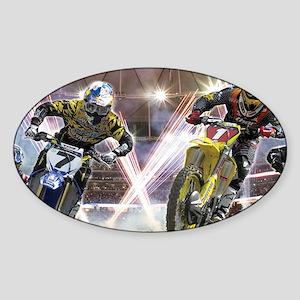 Motocross Arena Sticker