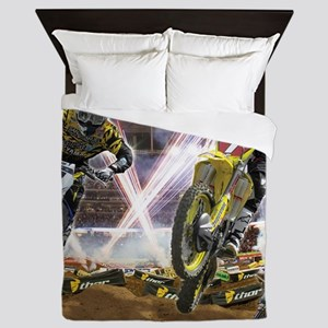 Motocross Arena Queen Duvet