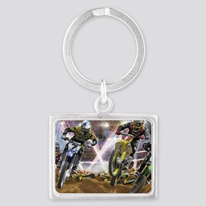 Motocross Arena Keychains