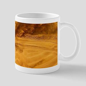 Motocross Riders Riding Sand Dunes Mugs