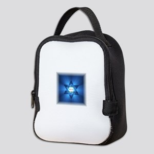 WE LIVE! COME HEAR A MAN! Neoprene Lunch Bag