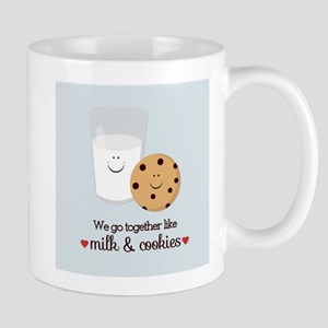 Milk and Cookie Valentine Mugs
