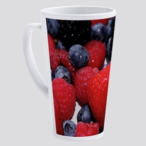 BERRIES 1 17 oz Latte Mug