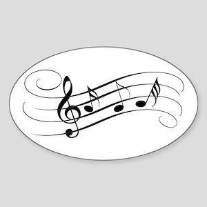 Musical Notes Sticker