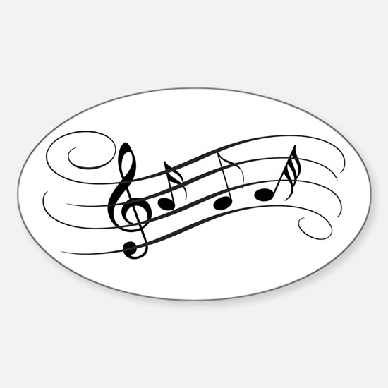 Musical Notes Decal