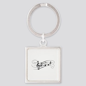Musical Notes Keychains