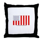 US Civil Peacetime Flag Throw Pillow