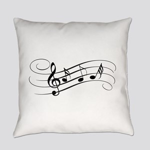 Musical Notes Everyday Pillow