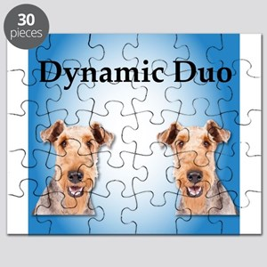 Airedale Dynamic Duo Puzzle