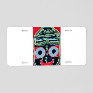 krishna Aluminum License Plate