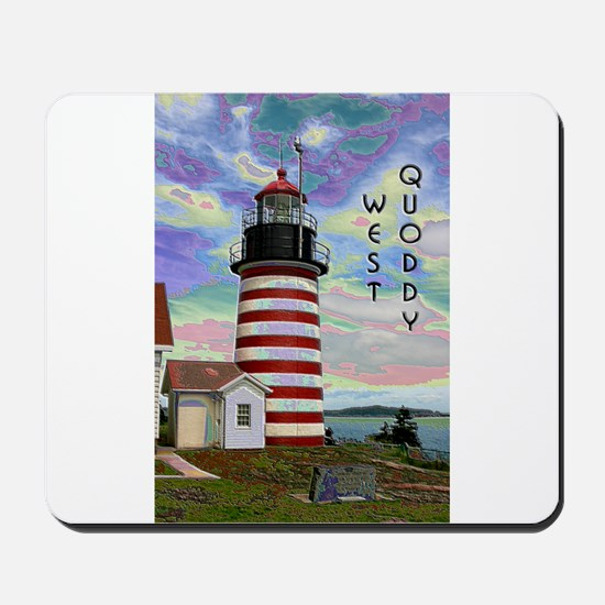 West Quoddy Head Lighthouse Mousepad
