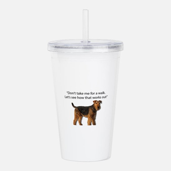 Airedale Terrier Getti Acrylic Double-wall Tumbler