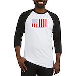 US Civil Peacetime Flag Baseball Jersey