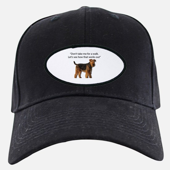 Airedale Terrier Getting Ready for Payba Baseball Hat