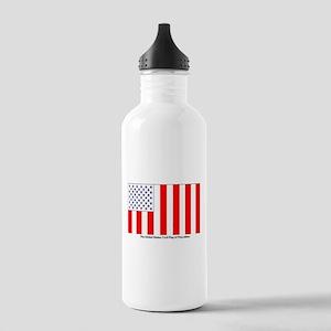 US Civil Peacetime Fla Stainless Water Bottle 1.0L