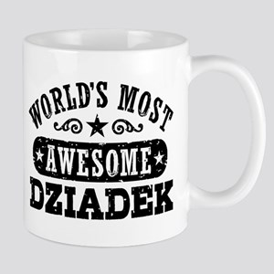 World's Most Awesome Dziadek Mug
