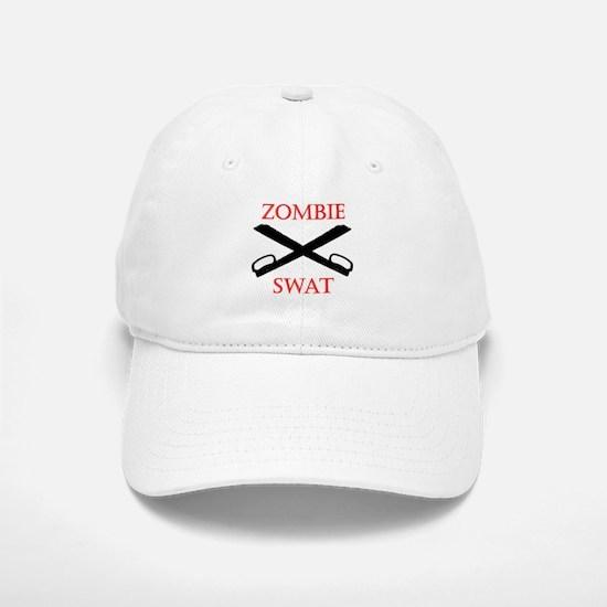 Zombie SWAT Baseball Baseball Cap