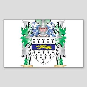 Garrett Coat of Arms (Family Crest) Sticker