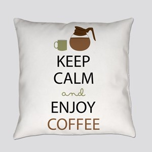 Enjoy Coffee Everyday Pillow