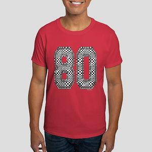 80 Checkerboard Dark T-Shirt