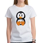 Breast Cancer Penguin Women's T-Shirt