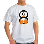 Breast Cancer Penguin Light T-Shirt