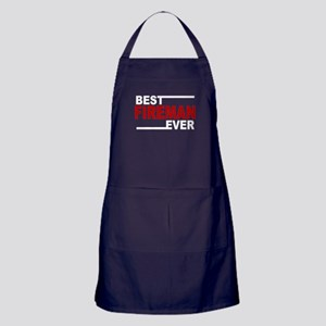Best Fireman Ever Apron (dark)