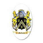 McGuirk 20x12 Oval Wall Decal