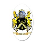 McGuirk 35x21 Oval Wall Decal