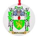 McGuinness Round Ornament