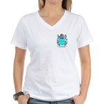 McGuffin Women's V-Neck T-Shirt