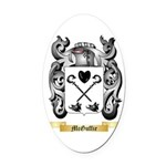 McGuffie Oval Car Magnet