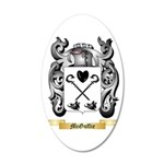 McGuffie 20x12 Oval Wall Decal
