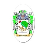 McGregor 35x21 Oval Wall Decal