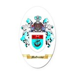 McGreevy Oval Car Magnet