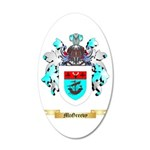 McGreevy 20x12 Oval Wall Decal