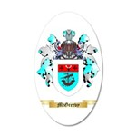 McGreevy 35x21 Oval Wall Decal