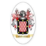 McGreallish Sticker (Oval)