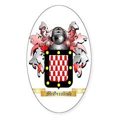 McGreallish Sticker (Oval 50 pk)