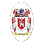 McGray Sticker (Oval 50 pk)