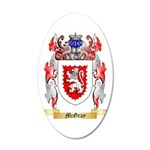 McGray 35x21 Oval Wall Decal