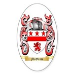 McGraw Sticker (Oval 50 pk)