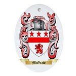 McGraw Oval Ornament