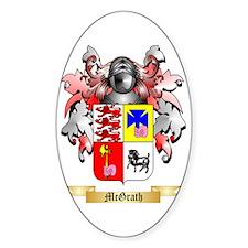 McGrath Sticker (Oval)